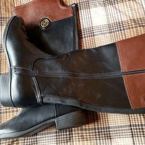 Lis Claiborne Plus Size Wide calf Boots size 11